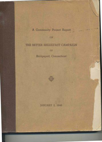 Bridgeport's Better Breakfast Program