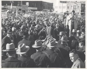 President Kennedy in Bridgeport November 5, 1960