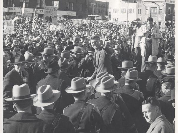President Kennedy in Bridgeport November 5, 1960