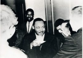 Martin Luther King Visits Bridgeport