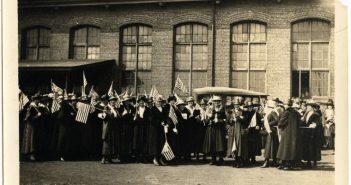 Suffragettes at Locomobile