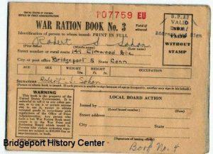 World War II Ration Books