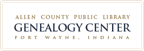 Genealogy Center – Allen County Indiana Public Library