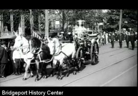 Rare Film: Fireman and Police parade; UMC-Remington Arms Workers, 1912