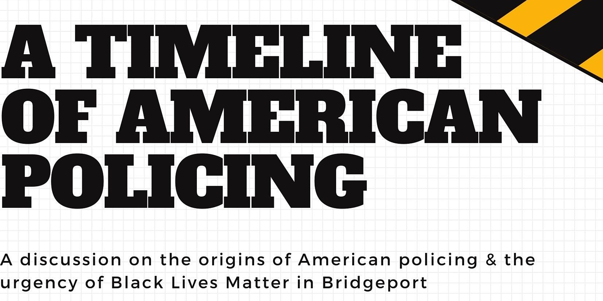 A Timeline of American Policing - Live
