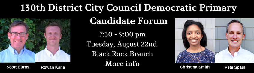 130th banner District City Council Democratic Primary Candidate Forum-4