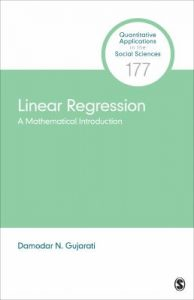 Linear regression : a mathematical introduction