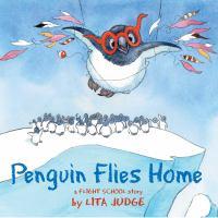 Penguin flies home