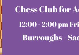 Chess Club for Adults