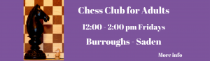 Chess Club for Adults banner
