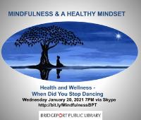Mindfulness & a Healthy Mindset Series live on Skype