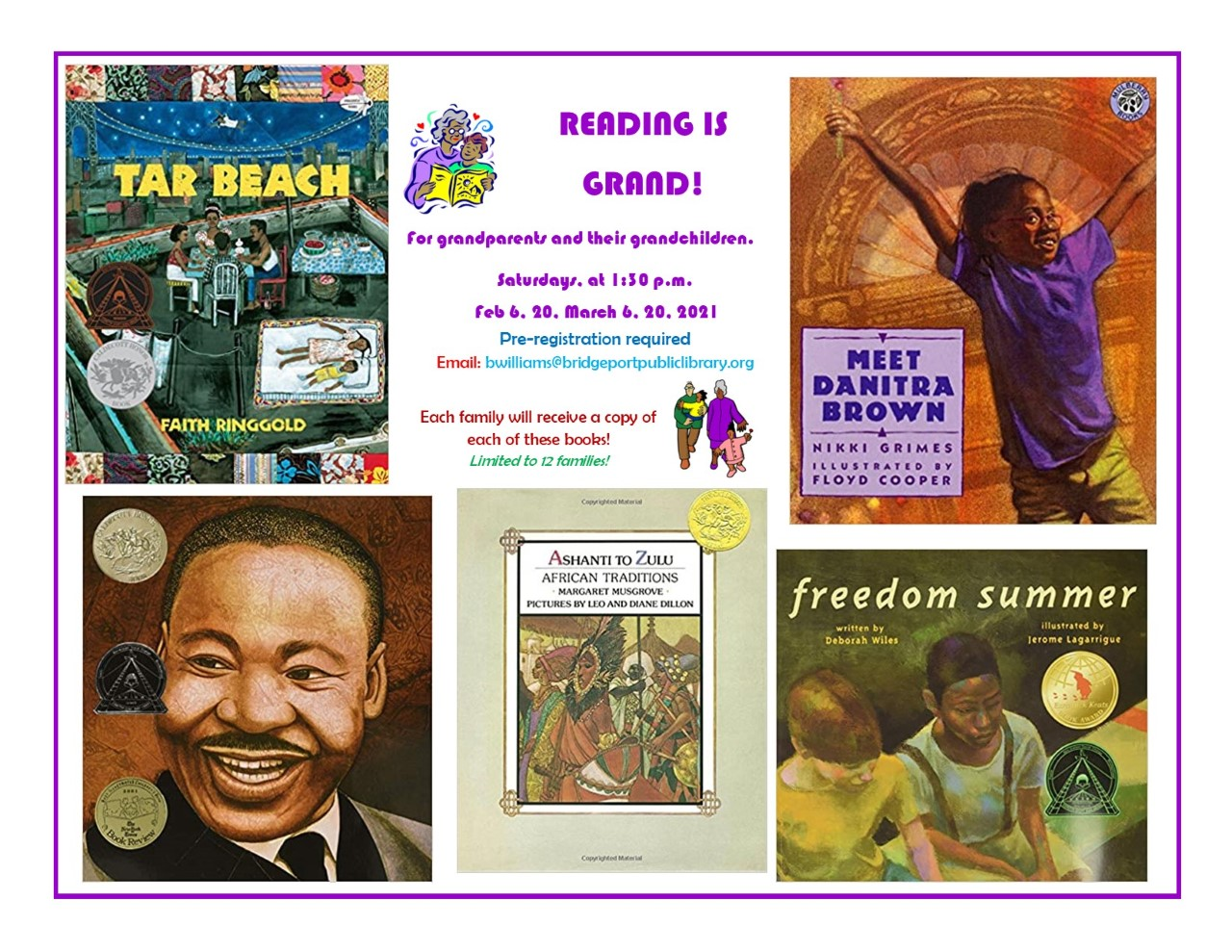 Reading is Grand! ~ register NOW!!!