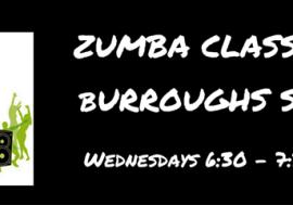 Zumba Class at Burroughs-Saden