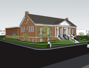 This Newfield concept art illustrates the goals for the renovations