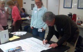 Literacy volunteer activity at BPL